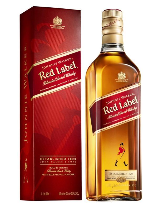 Red label whisky suppliers