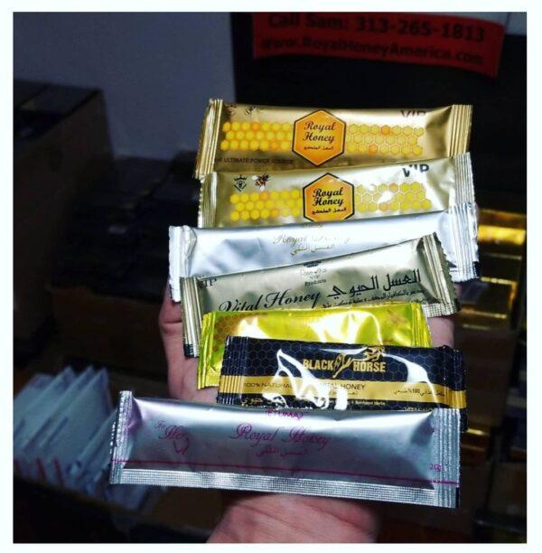 Golden Vip royal honey for sale