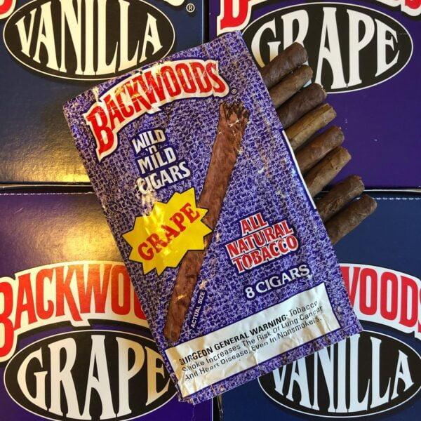 Buy Grape Backwoods Cigars